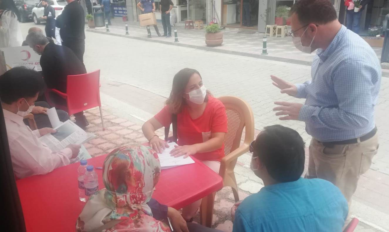 Kızılay Kan Bağışı Kampanyasına Kaldığı Yerden Devam Ediyor